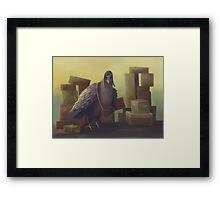 Messenger-pigeon Framed Print