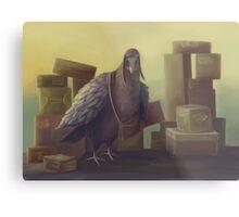 Messenger-pigeon Metal Print