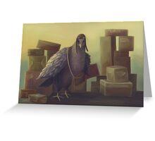 Messenger-pigeon Greeting Card