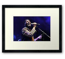 The wonderful Jimmy Cliff 11 (c)(t) by expressive photos ! Olao-Olavia by Okaio Créations  Framed Print