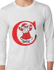 C for Celebration (or Christmas) Long Sleeve T-Shirt