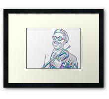 Dizzie Framed Print