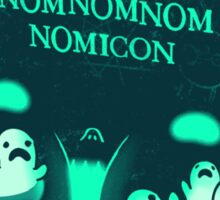 Necronomnomnomnomicon Sticker