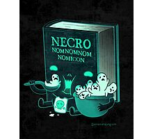 Necronomnomnomnomicon Photographic Print