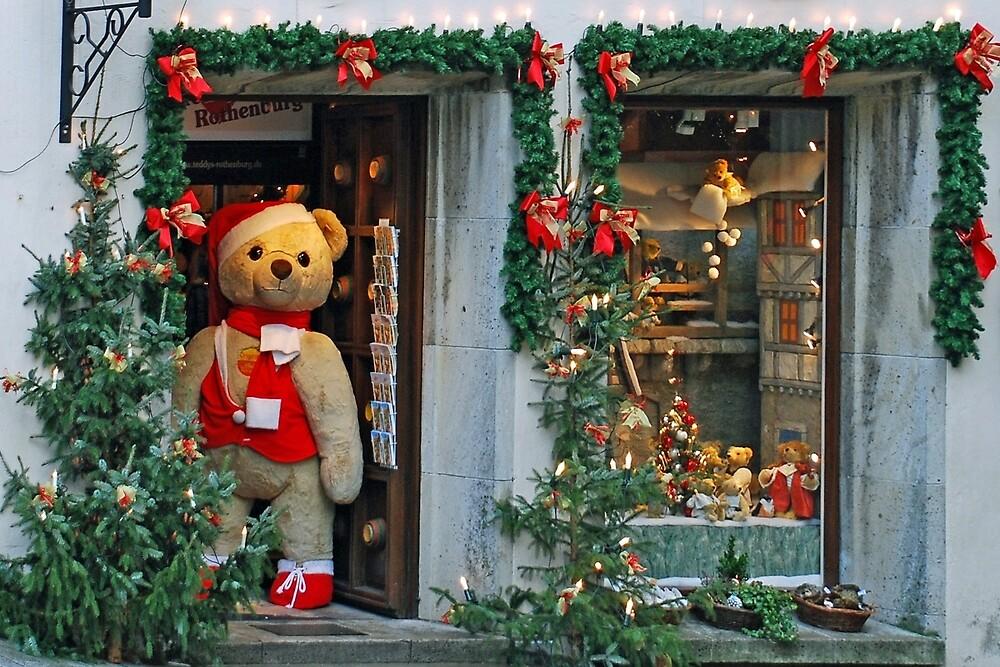 Christmas in the Teddybear-shop by Arie Koene