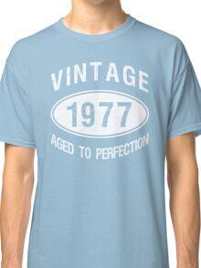 Vintage 1977 Birthday Classic T-Shirt