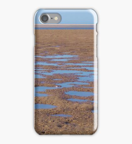 Stingray holes - Farquhar Inlet. iPhone Case/Skin