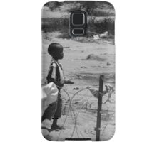 Boy on the wire Samsung Galaxy Case/Skin