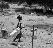 Boy on the wire by Barham Ferguson