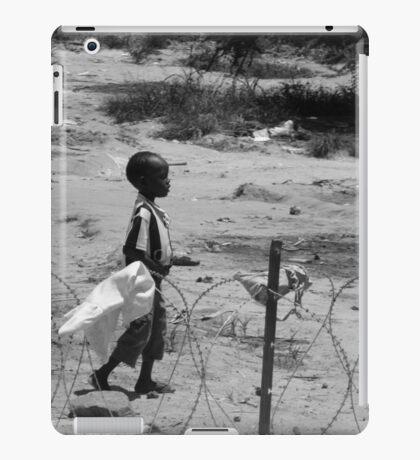 Boy on the wire iPad Case/Skin