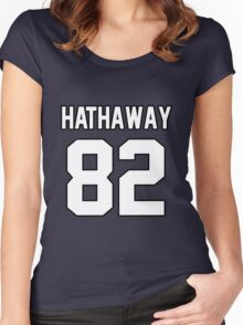 Anne Hathaway Women's Fitted Scoop T-Shirt