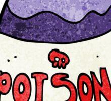 poison bottle Sticker