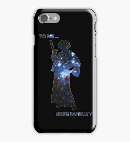 To me, she is royalty iPhone Case/Skin