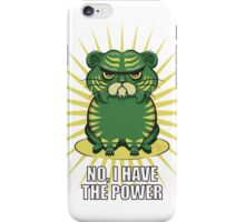 Grumpy Cringer iPhone Case/Skin