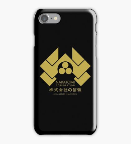 Nakatomi Corporation - Gold Variant iPhone Case/Skin