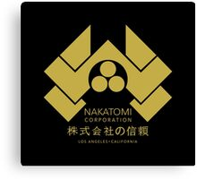 Nakatomi Corporation - Gold Variant Canvas Print