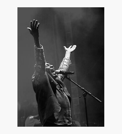 The wonderful Jimmy Cliff 12 (n&b)(h) by expressive photos ! Olao-Olavia by Okaio Créations  Photographic Print