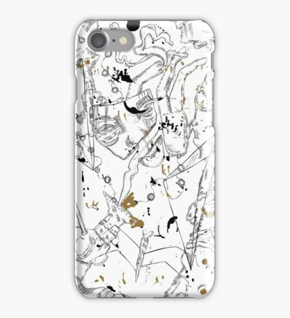 Scattered Mind  iPhone Case/Skin