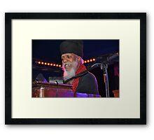 Dr. Lonnie Smith @ Jazz & Blues 2012 Framed Print