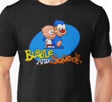 Bubble and Squeak - SEGA Genesis Title Screen Unisex T-Shirt