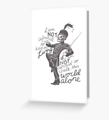 Famous Last Words~MCR Greeting Card