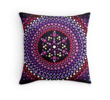 Gentle Pink Mandala Throw Pillow