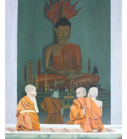 Buddhist Monks Sticker