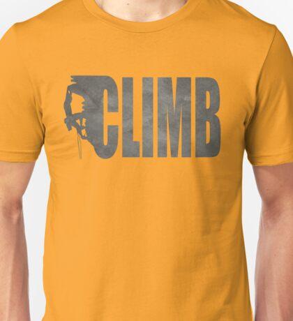 Awesome climbing shirt Unisex T-Shirt