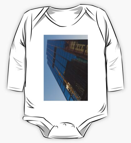Reflecting on Skyscrapers - Downtown Affection One Piece - Long Sleeve