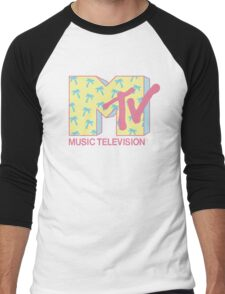 Summer MTV Men's Baseball ¾ T-Shirt