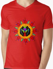 Spaceway Mens V-Neck T-Shirt