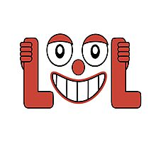 Laughing Out Loud Illustration Photographic Print