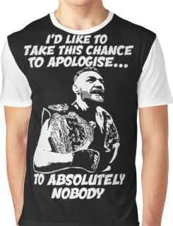 Conor McGregor Limited Edition - Not Sold In Stores Graphic T-Shirt