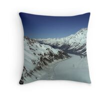 In the Hall of the Mountain King- Top of the Tasman Throw Pillow