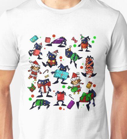 KH-Heartless Presents (Black) Unisex T-Shirt
