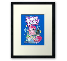 Party Flavored Sugar Rush! Framed Print