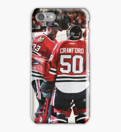 Scott Darling and Corey Crawford iPhone Case/Skin