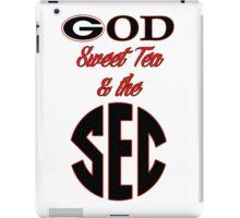 Georgia - God, Sweet Tea, & the SEC iPad Case/Skin