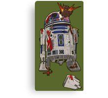 R2-D2 Zombie Canvas Print