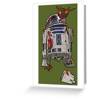 R2-D2 Zombie Greeting Card