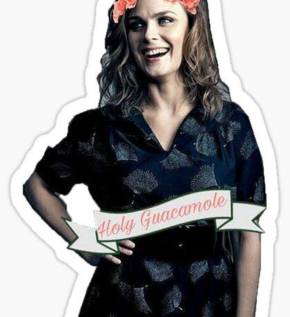 Emily Deschanel - Holy Guacamole Sticker