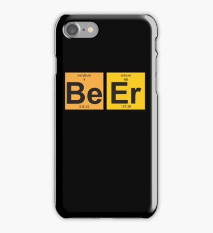 BeEr - Periodic Table of Elements iPhone Case/Skin