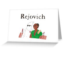 Rejjie Snow - Rejovich Greeting Card