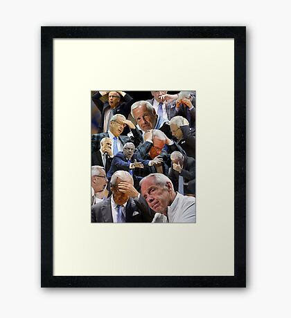 Roy is very disappointed. Framed Print