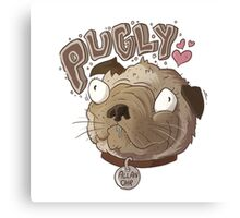 Pugly Canvas Print