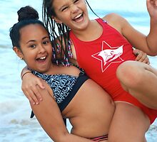Beach Babes # 3 by Penny Smith