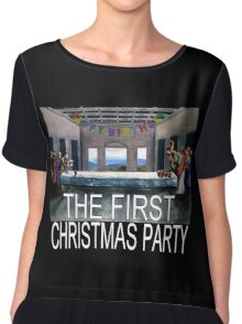 The First Christmas Party Chiffon Top