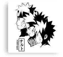 15 years of Naruto Canvas Print