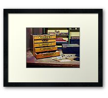 Embroidery Thread for Sale Framed Print