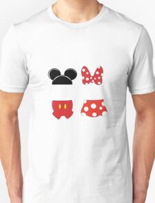 Mickey and Minnie Icons Unisex T-Shirt